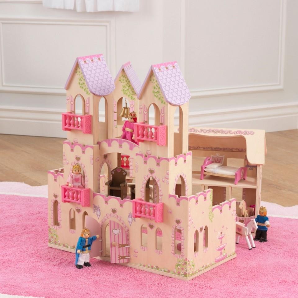 Castillo de princesas 65259 kidkraft width=