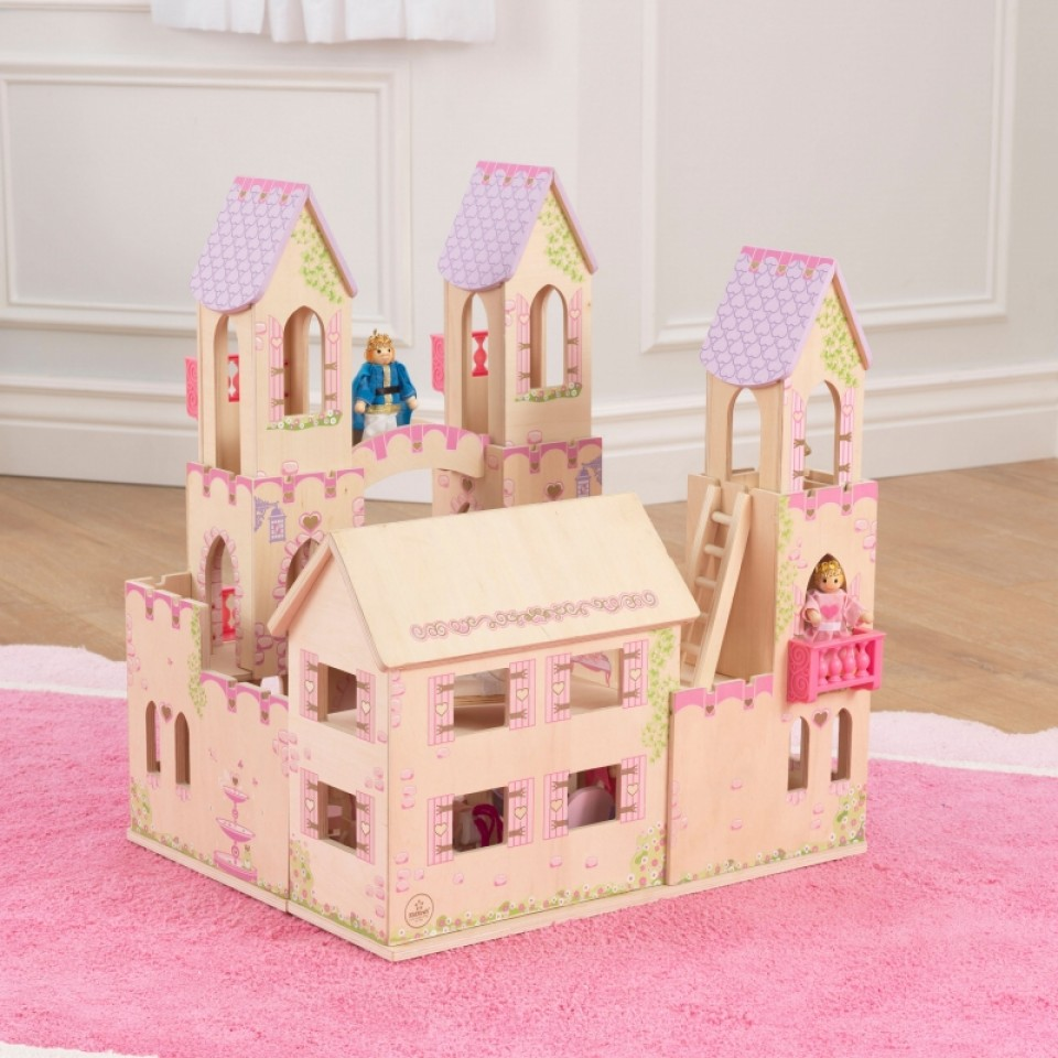 Detalle del castillo de princesas 65259 kidkraft width=
