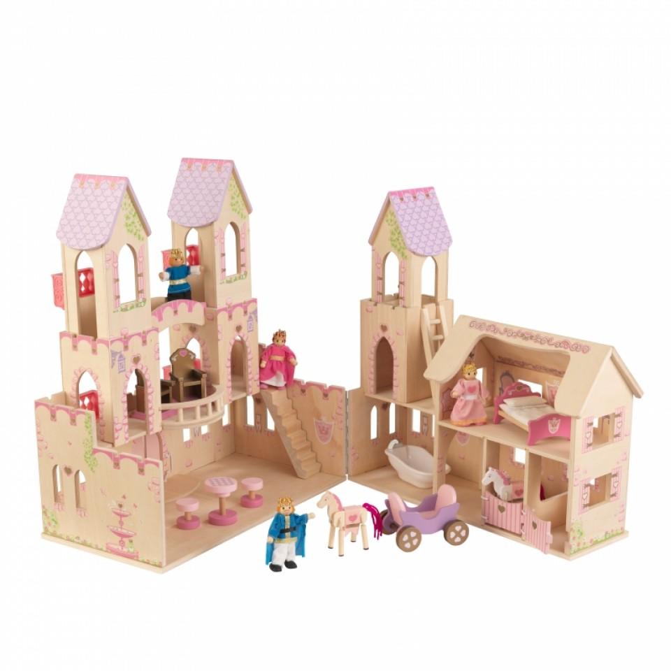 Castillo de princesas 65259 kidkraft con accesorios width=