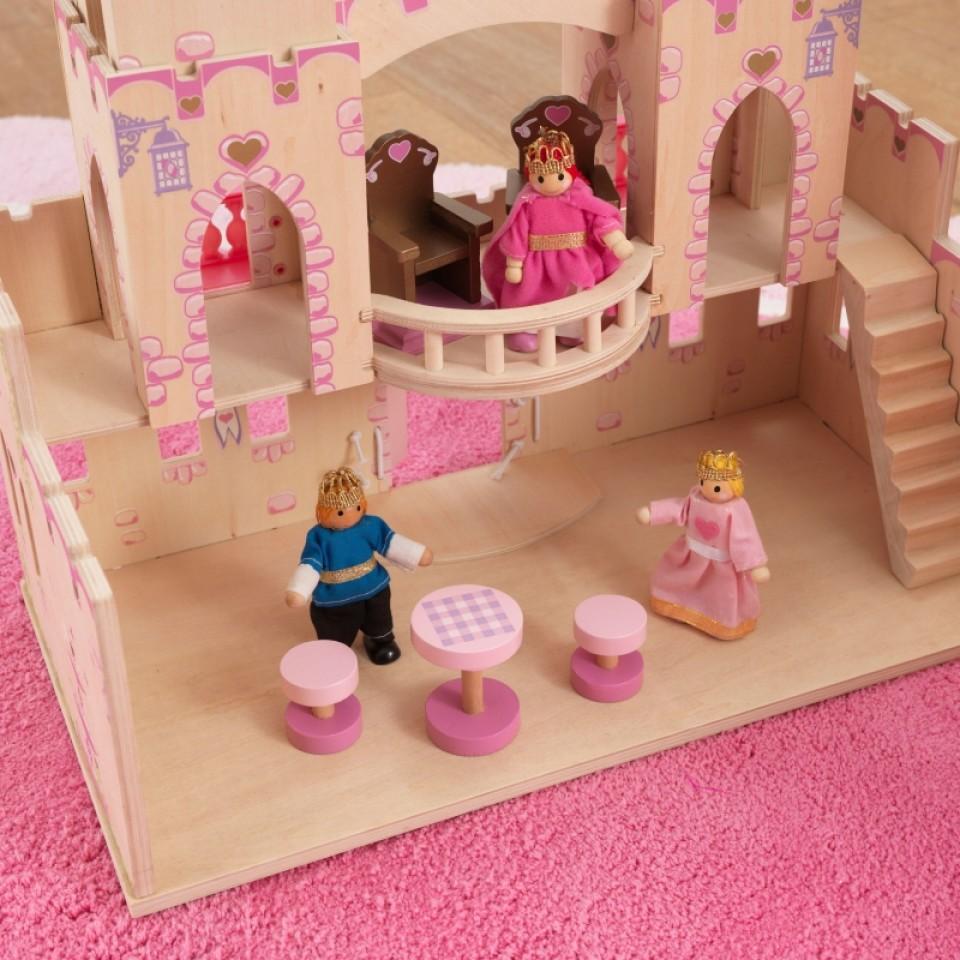Castillo de princesas 65259 kidkraft detalle salón width=