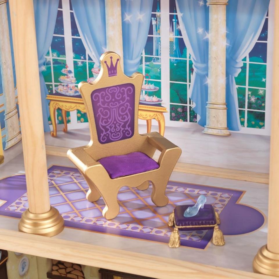 Detalle del trono y zapato de kidkraft castillo real de cenicienta 65400 width=