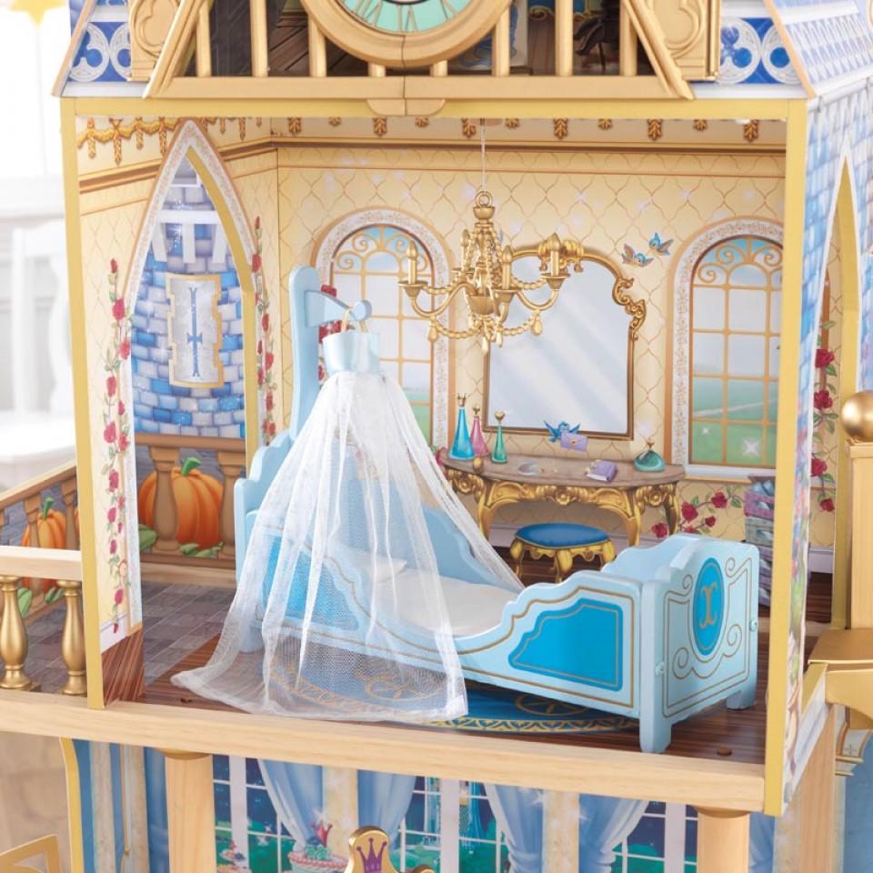 Detalle cama de kidkraft castillo real de cenicienta 65400 width=