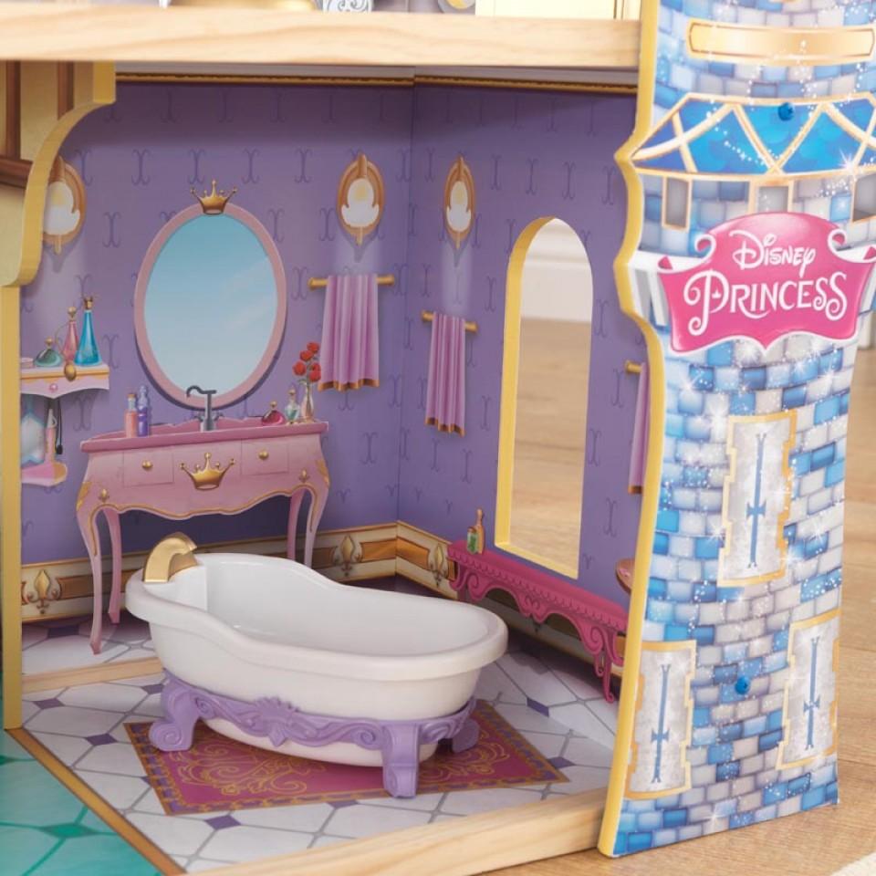 Detalle bañera de kidkraft castillo real de cenicienta 65400 width=