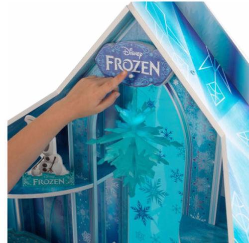 Detalle parte superior de kidkraft 65880 mansion copo de nieve - frozen width=