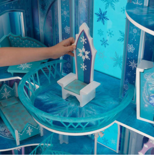 Detalle trono de kidkraft 65880 mansion copo de nieve - frozen width=