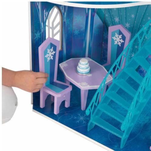 Detalle mesas y sillas de kidkraft 65880 mansion copo de nieve - frozen width=