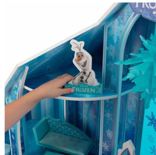 Detalle muñeco Olaf de kidkraft 65880 mansion copo de nieve - frozen width=