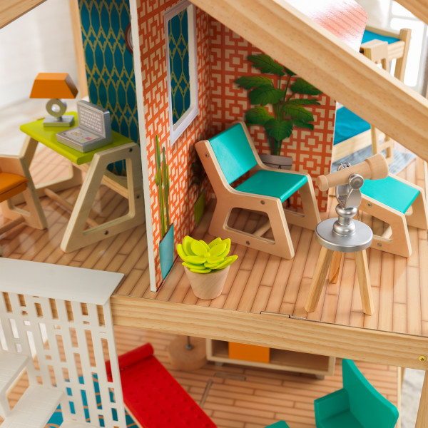Detalle parte superior de kidkraft mansion so stylish 65199 width=