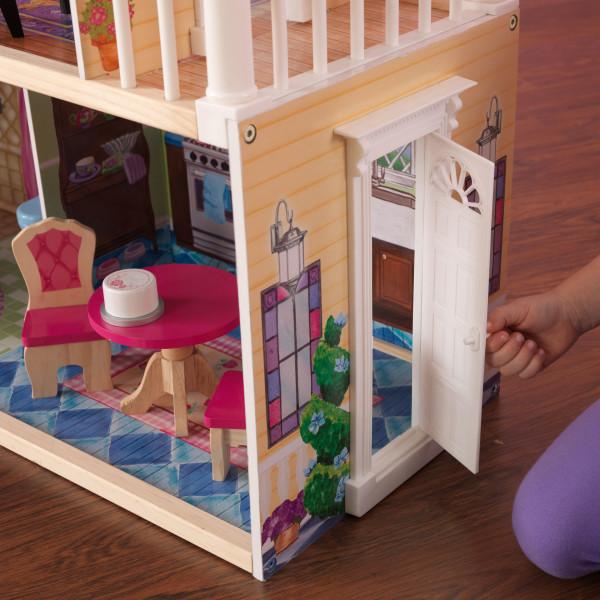 kidkraft casa de muñecas My Dreamy 65823 - puerta funcional