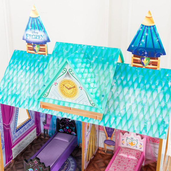 Detalle de la parte superior de kidkraft palacio de arendelle de frozen 65945 width=
