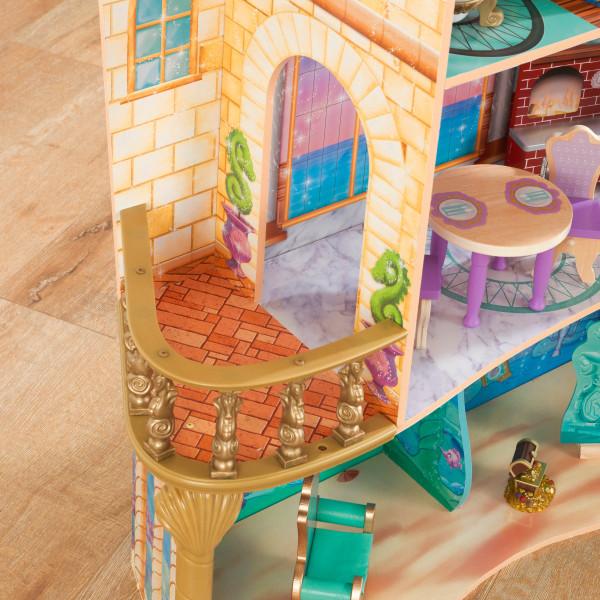 Detalle del balcón de kidkraft palacio de ariel 65939 width=