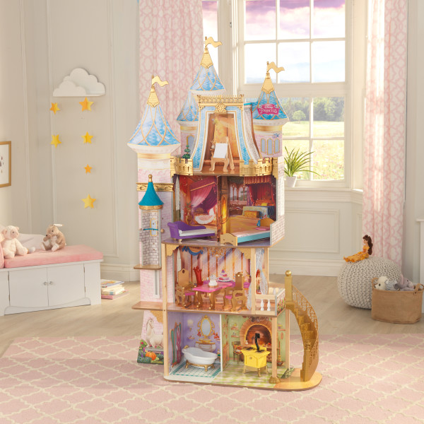 Casa de muñecas kidkraft disney princess royal celebration 65962