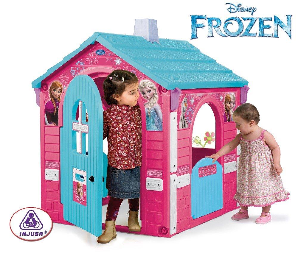 Casa frozen inforchess for Casa juguete jardin
