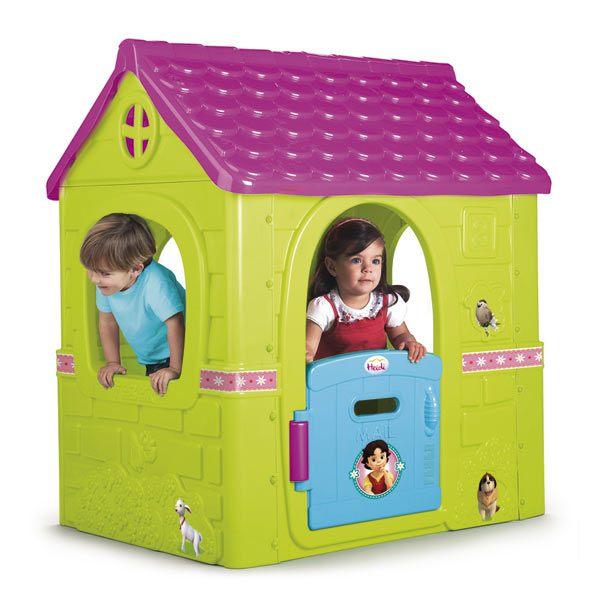 Fantasy house heidi inforchess for Casas de plastico para ninos