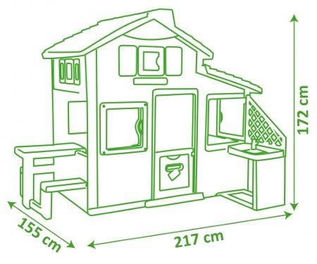 FRIENDS HOUSE CON COCINA MEDIDAS width=