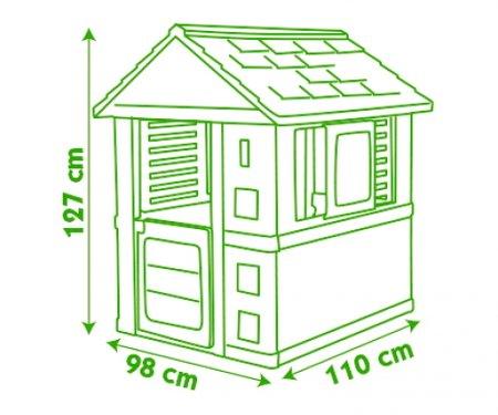 PRETTY HOUSE + TOBOGAN XS  4 width=