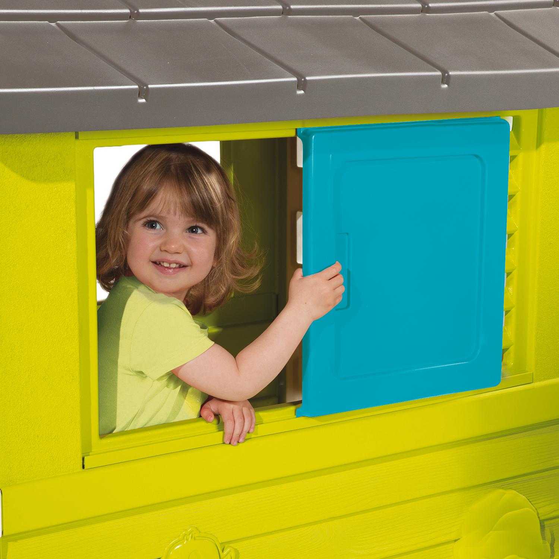 casita de jardin infantil width=
