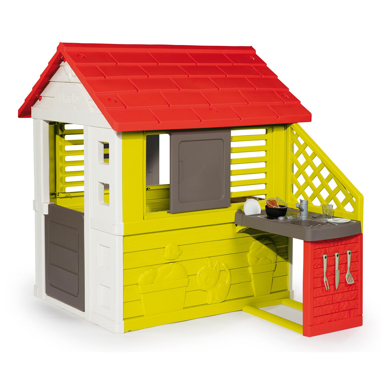 casita de niños para jardin