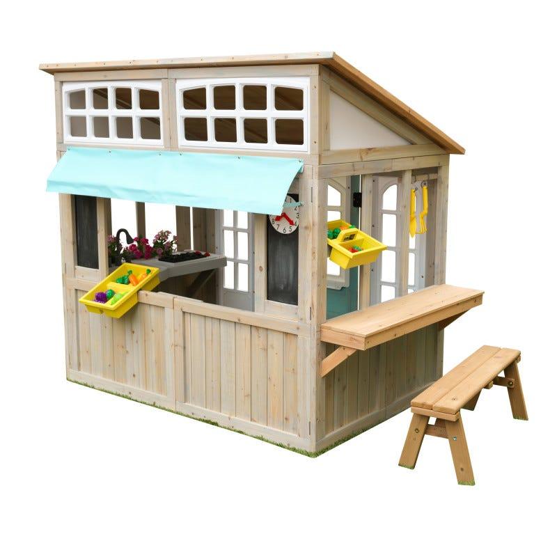 Casita/mecado de madera para exterior de niños Meadowlane - kidkraft