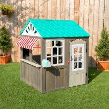 Casita de madera para exterior de niños coastal cottage - kidkraft