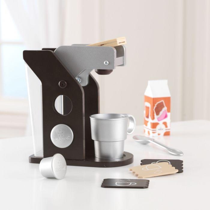 cafetera nespresso de juguete kidkraft