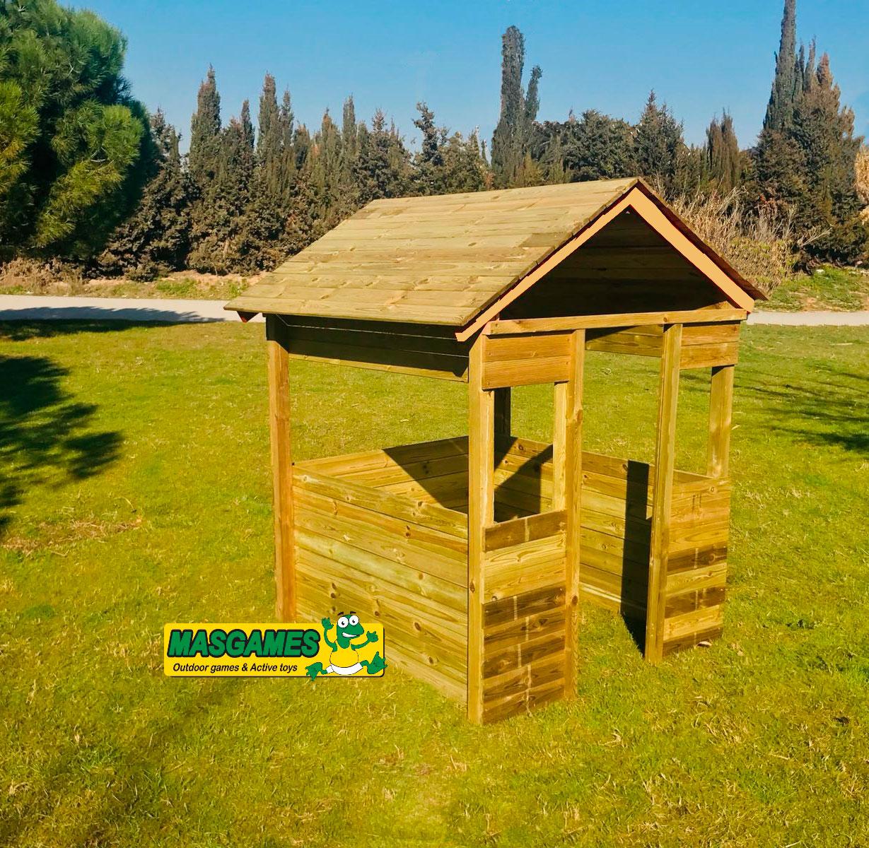 Casitas infantiles de madera para jardin inforchess for Casas madera ninos jardin