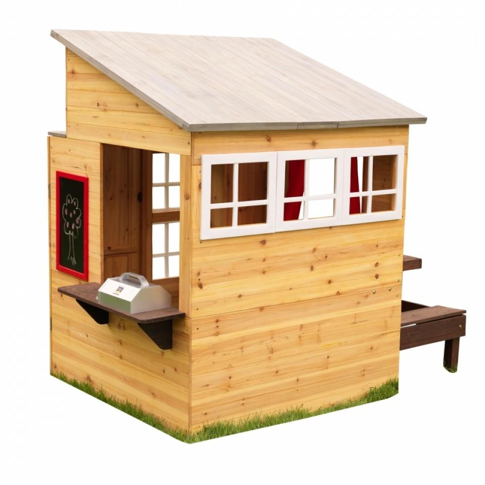 Kidkraft casa moderna de madera para exteriores 00182 - Madera para casa ...