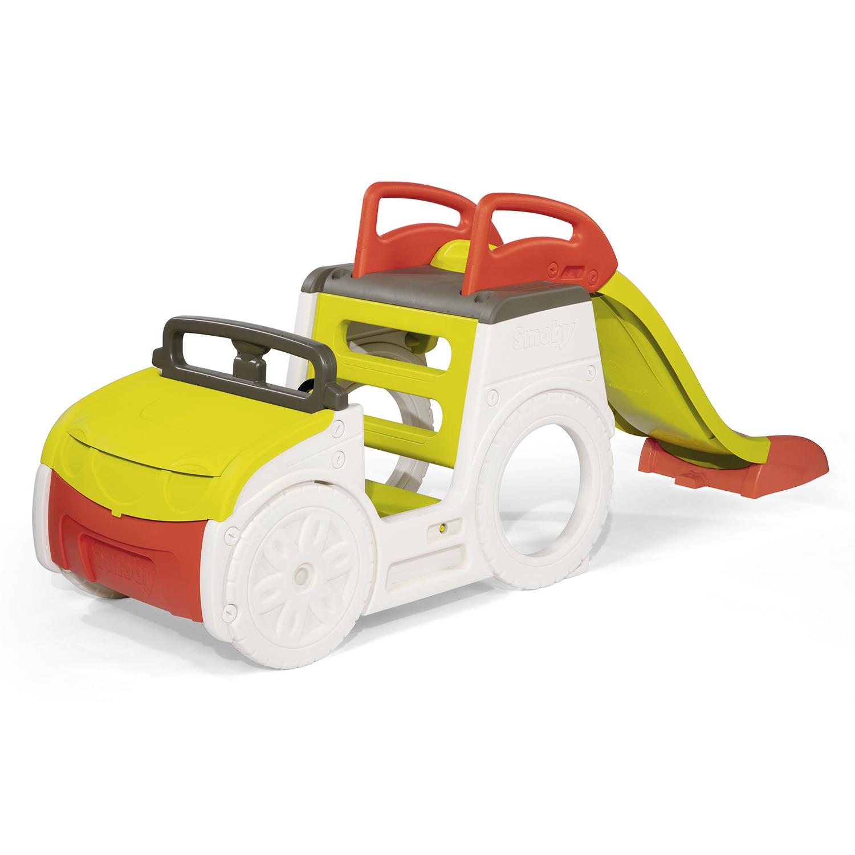 coche aventura para niños