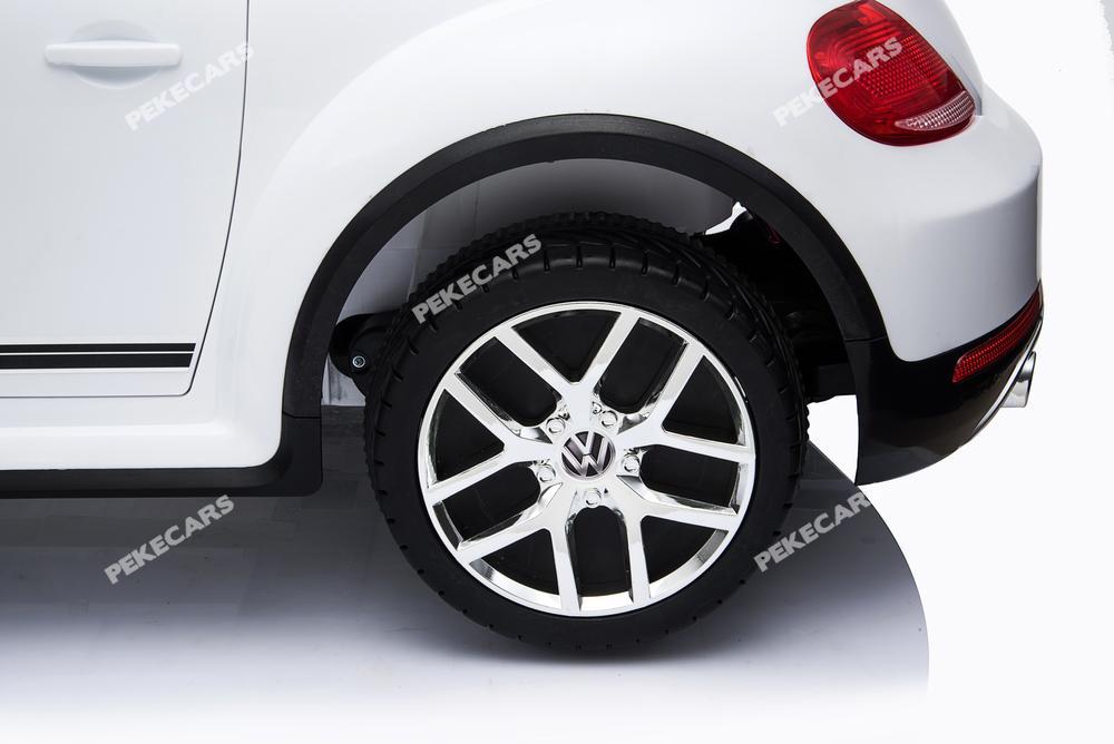 Ruedas de caucho del  Beatle Dune Volkswagen infantil 12V