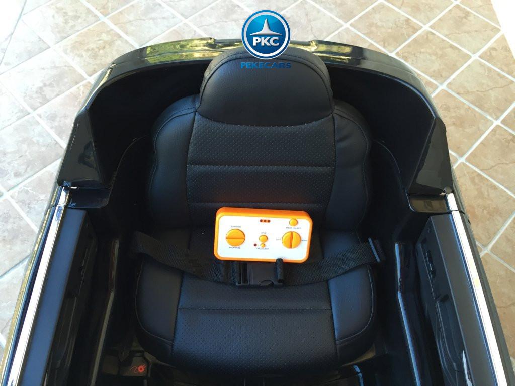 Coche electrico para niños audi q7 negro