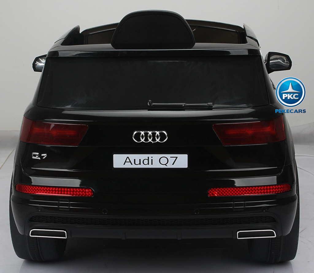 Coche electrico para niños Audi Q7 S-Line Negro trasera