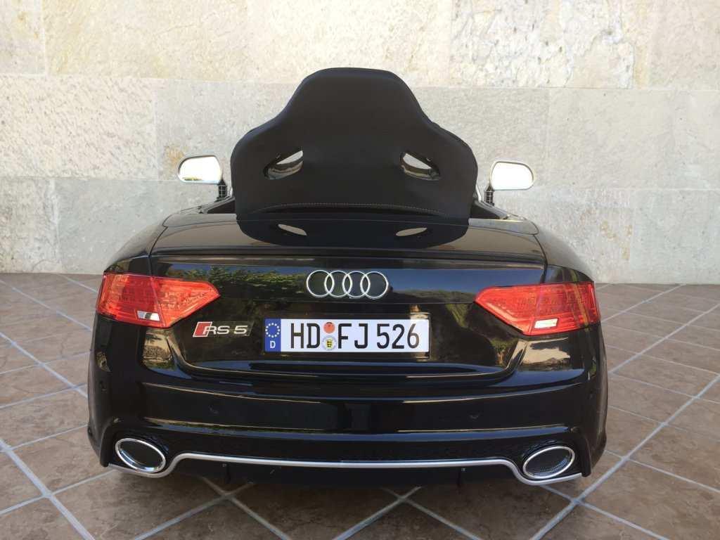 Audi RS5  12V Vista trasera width=