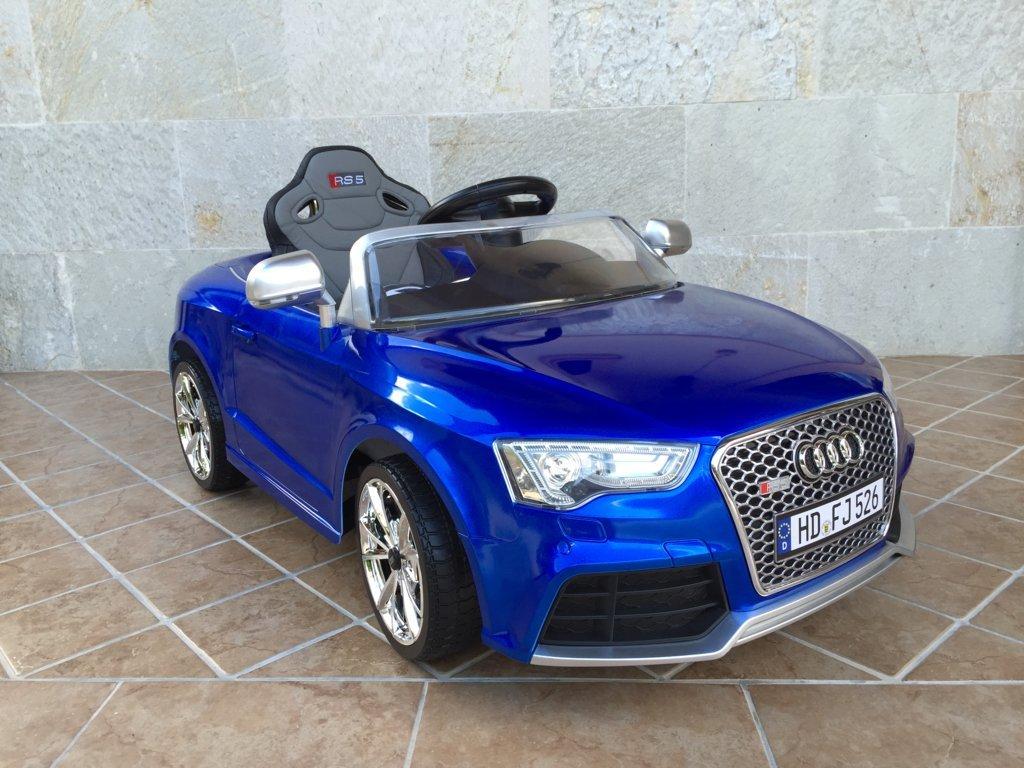 Inforchess - Coche electrico para niños Audi Rs5 Azul 1