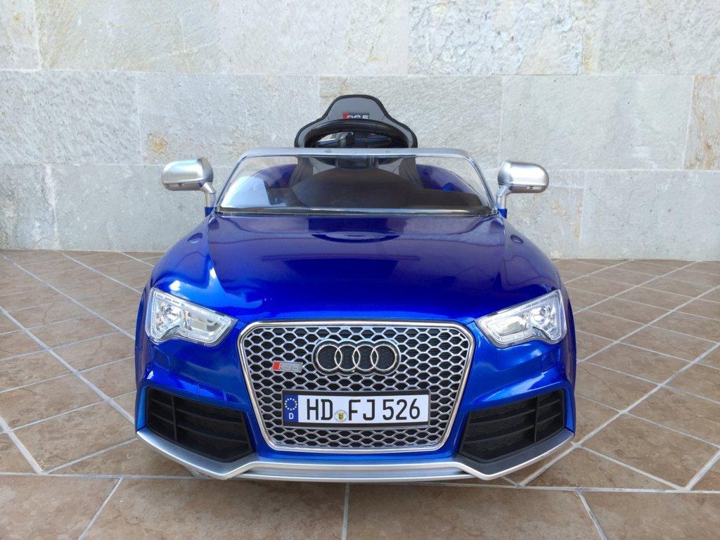 Inforchess - Coche electrico para niños Audi Rs5 Azul 2