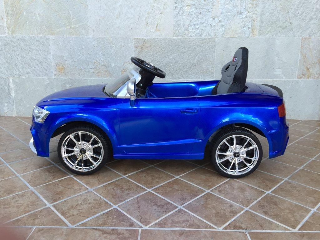 Inforchess - Coche electrico para niños Audi Rs5 Azul 3