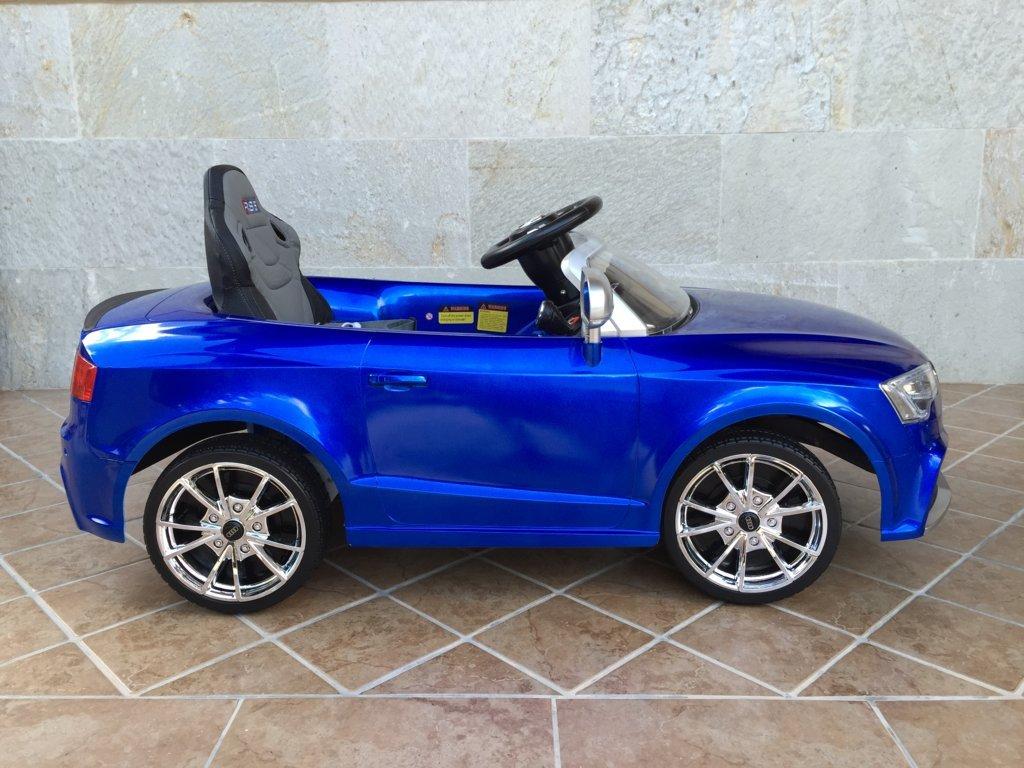 Inforchess - Coche electrico para niños Audi Rs5 Azul 5