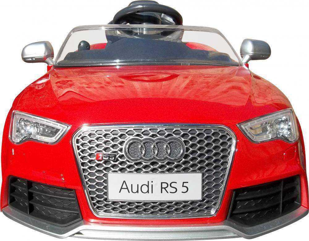 Coche electrico para niños Audi Rs5 Rojo frontal 2