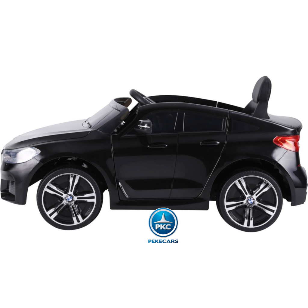 Coche electrico para niños BMW 6GT Negro