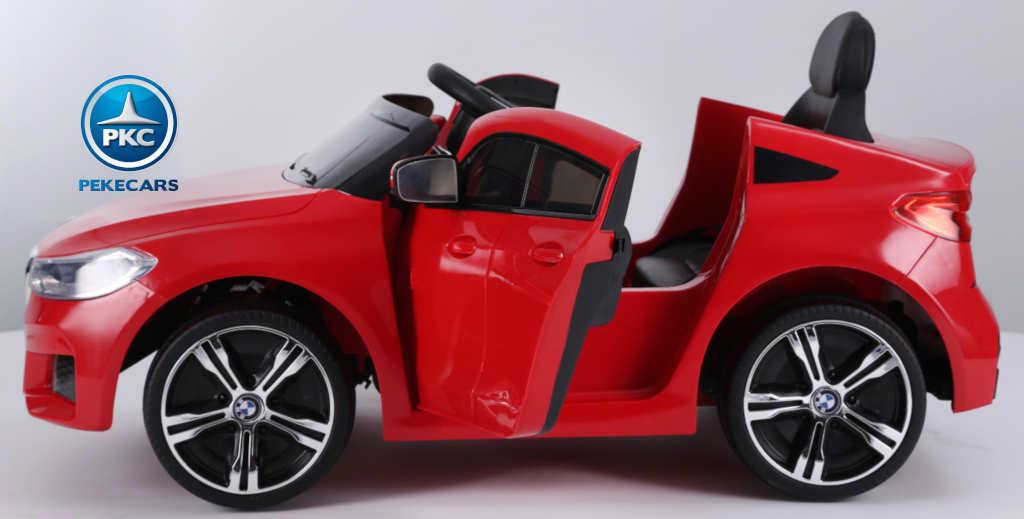 Coche electrico para niños BMW 6GT Rojo