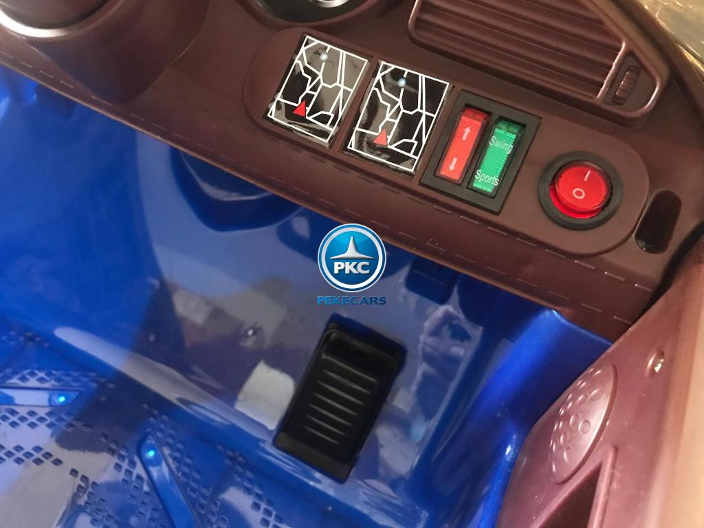 Coche electrico para niños BMW M8 style blanco
