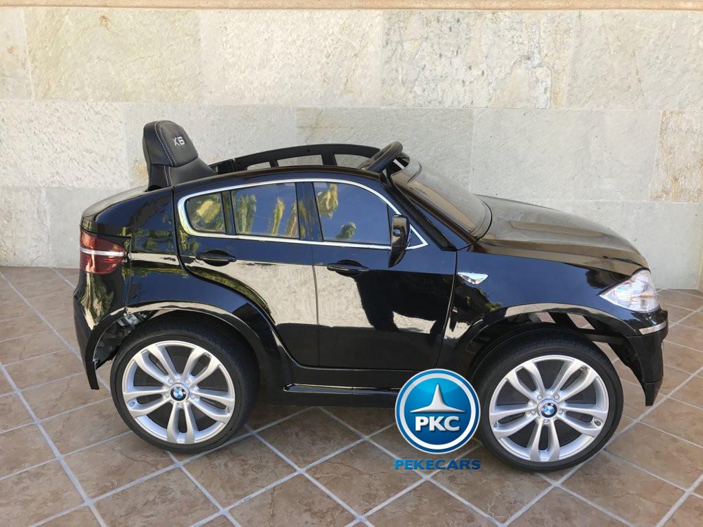 Inforchess - Coche electrico para niños BMW X6 Negro Metalizado 14