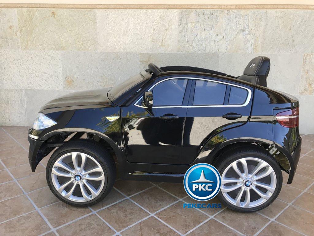Inforchess - Coche electrico para niños BMW X6 Negro Metalizado 13