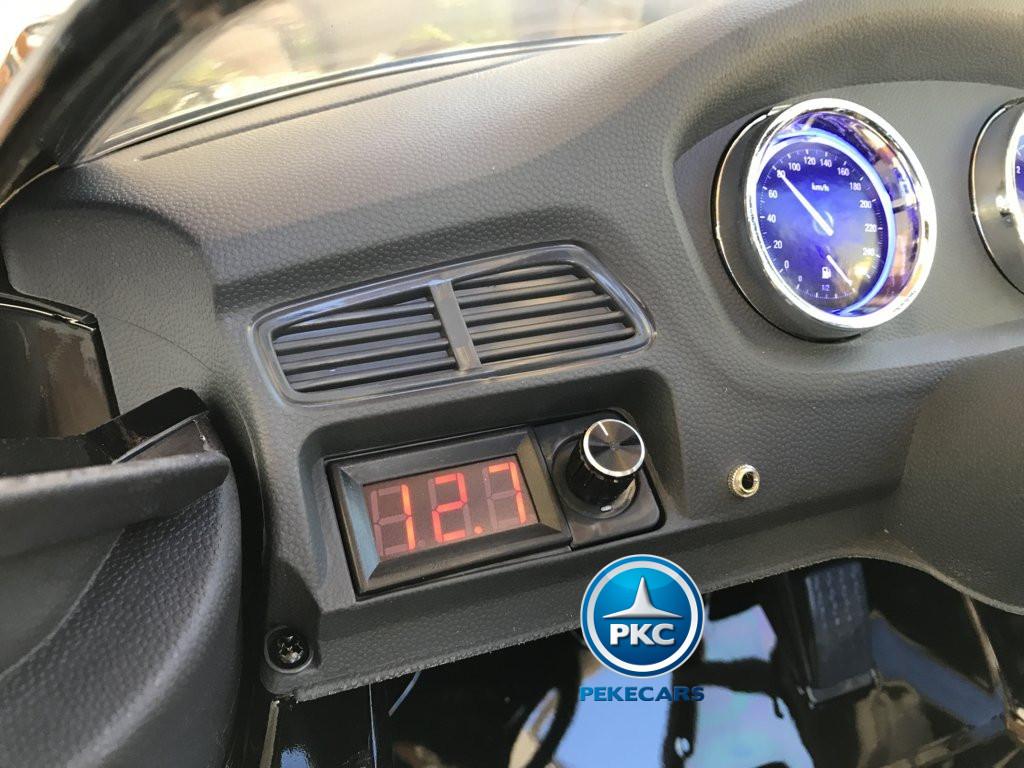 Inforchess - Coche electrico para niños BMW X6 Negro Metalizado 8