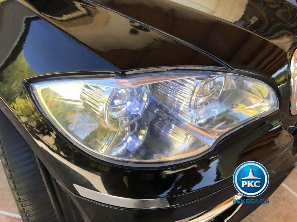 Inforchess - Coche electrico para niños BMW X6 Negro Metalizado 5