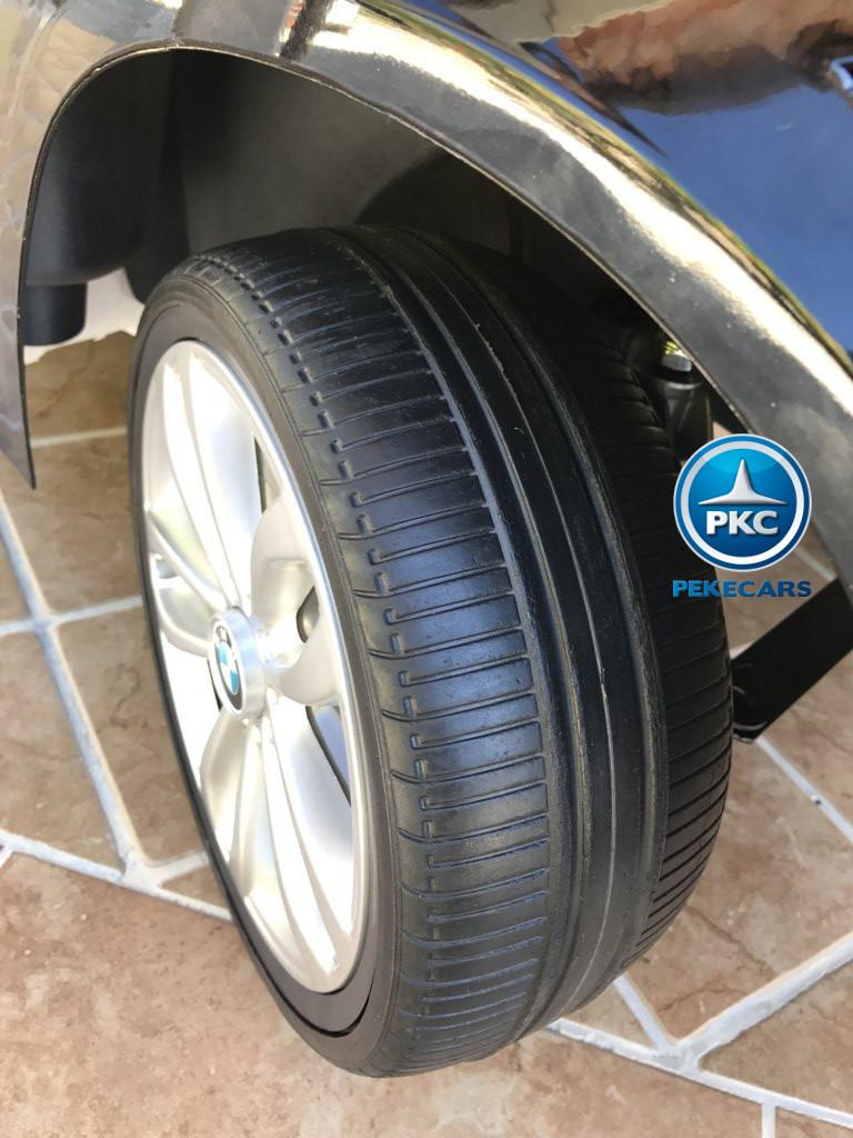 Inforchess - Coche electrico para niños BMW X6 Negro Metalizado 4