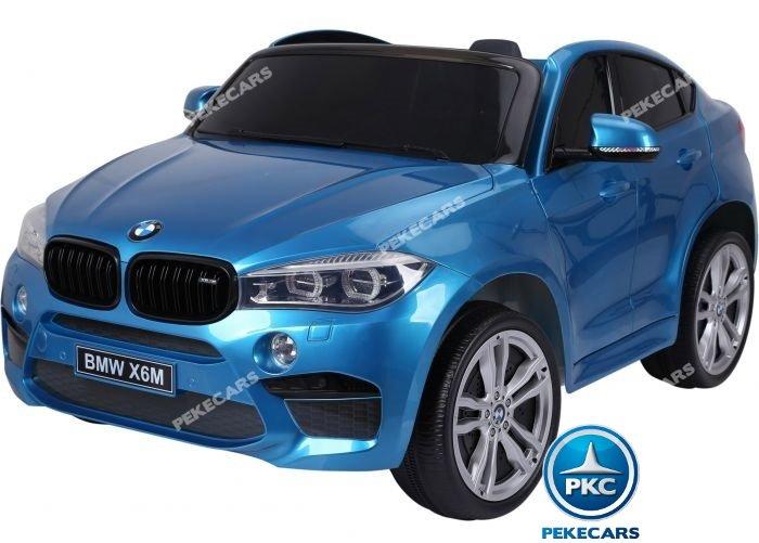 bmw x6 2 plazas 12v 2.4g azul metalizado-001 width=