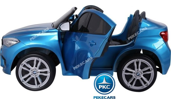 bmw x6 2 plazas 12v 2.4g azul metalizado-005 width=