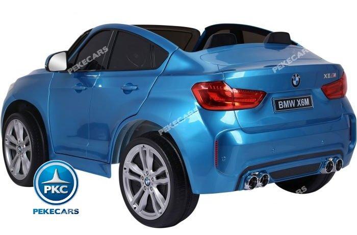 bmw x6 2 plazas 12v 2.4g azul metalizado-006 width=