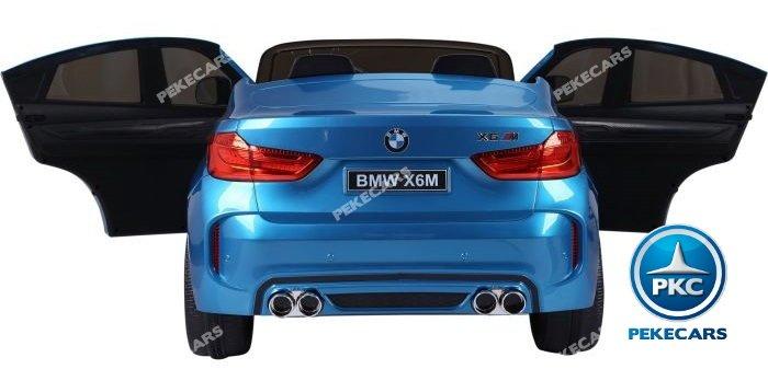 bmw x6 2 plazas 12v 2.4g azul metalizado-008 width=