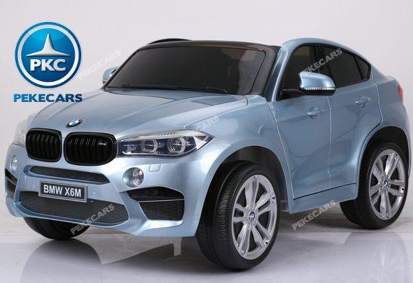 BMW X6 12V 2.4G 2 Plazas color Plata metalizado width=